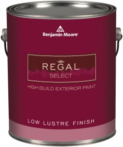 Regal Select Waterborne Exterior Paint