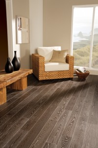 "Preverco Red Oak Nuance Kilimanjaro - Brushed Finish 5"" width"