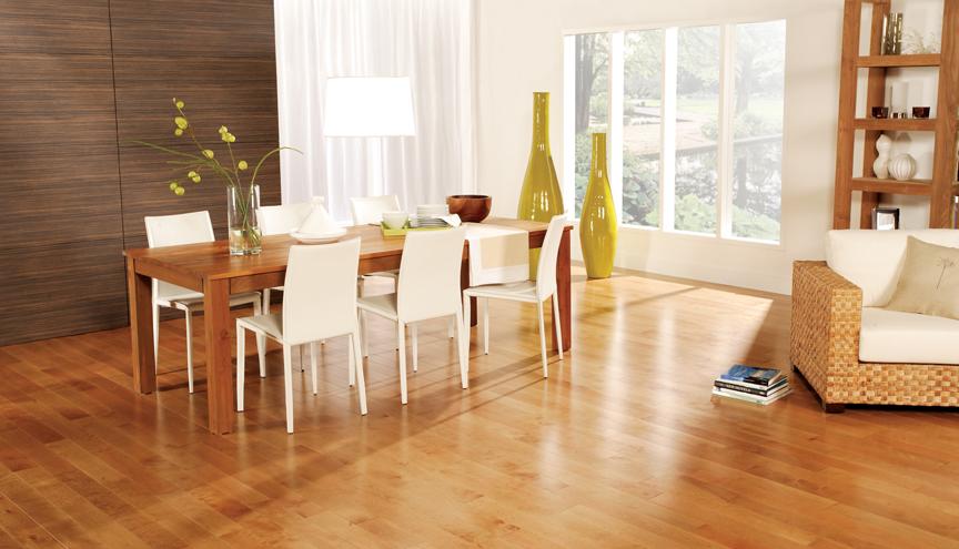 preverco yellow birch nuance golden west 4 1 4 width. Black Bedroom Furniture Sets. Home Design Ideas