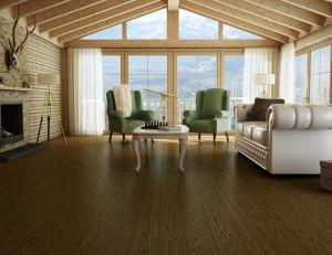 """Preverco White Oak Naunce Dublin - Oiled with Brushing - 7"""" width"""