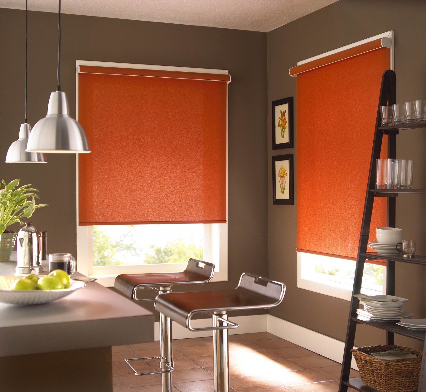 Roller blinds town country decorating centre - Cortinas de cocinas modernas ...